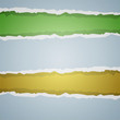 Vector paper background