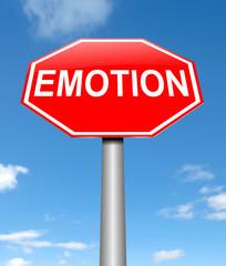 Emotion concept.