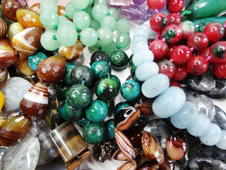 semigem crystals beads jewellery