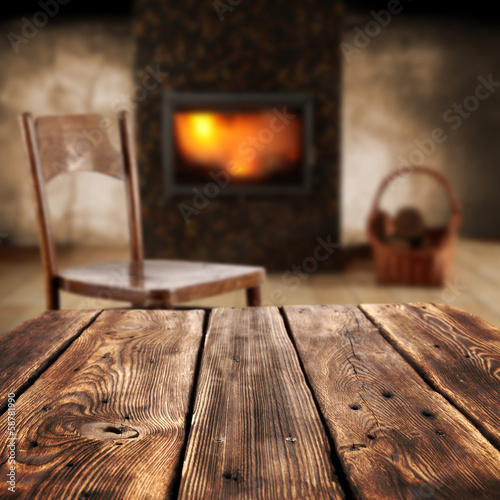 table of wood