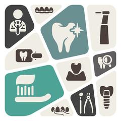 Dental theme background