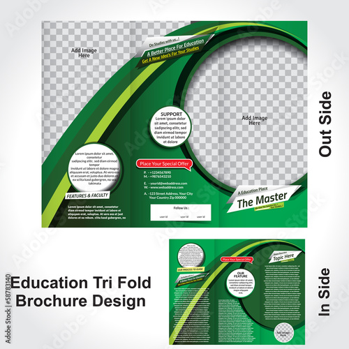 Education Tri Fold Brochure Design