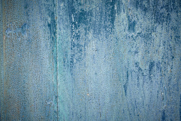 Blue texture of old colered wood with patina 2