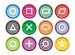 shape icons - round icons