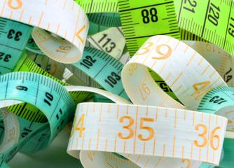 Various measuring tape.
