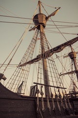 Old sailship