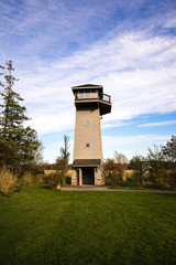 Wildlife Viewing Tower in a park.