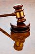 Richterhammer eines Richters