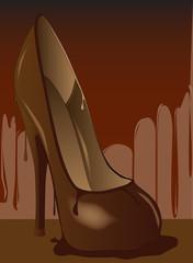 Chocolate Shoe