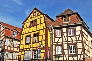 Colmar, Alsazia - case tradizionali