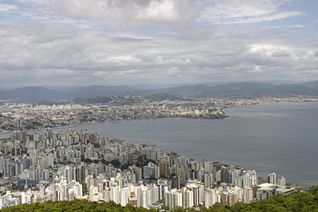 Florianopolis aerial view - Brazil