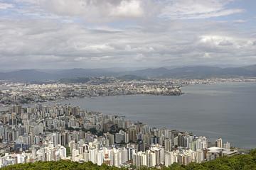 Florianopolis aerial view - Brazil