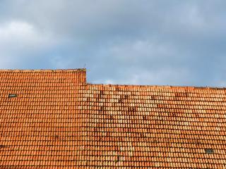 Altes marodes Dach