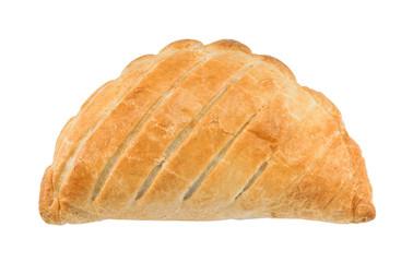 Cornish pasty isolated