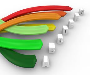 Consumo efficienza energetica, energia risparmio