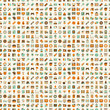 seamless retro web pattern