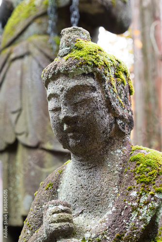Buddha statue at Rinnoji Temple,Nikko,Japan