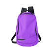 Purple backpack isolated with path