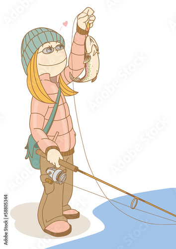 FishingGirl_Trout