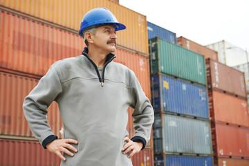 dock warehouse worker