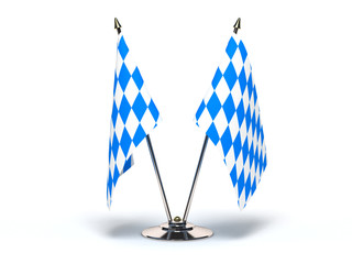 Miniature Flag of Bavaria