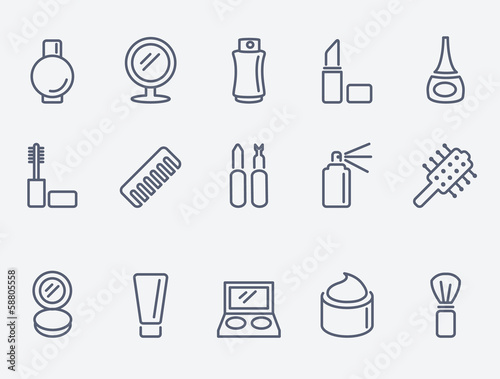 cosmetic icons - 58805558
