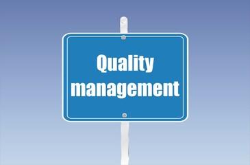 panneau quality management