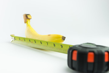 Banana and measuring ta