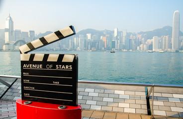 HONG KONG - OCTOBER 22: Avenue of Stars. The Avenue of Stars, mo