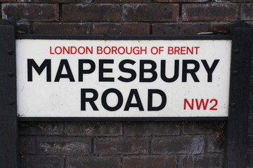 Mapesbury Road a famous London Address