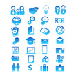 Set for 28 icon design