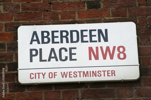 Aberdeen Place a famous London Address