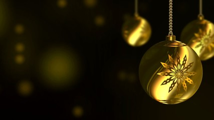 VID - Background - Christmas Balls (II)