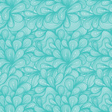 Seamless Pattern Cute Cartoon Swirls