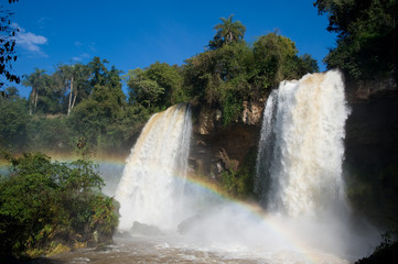 Twin Falls at Iguazu Falls