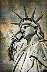 Statue of Liberty, vintage