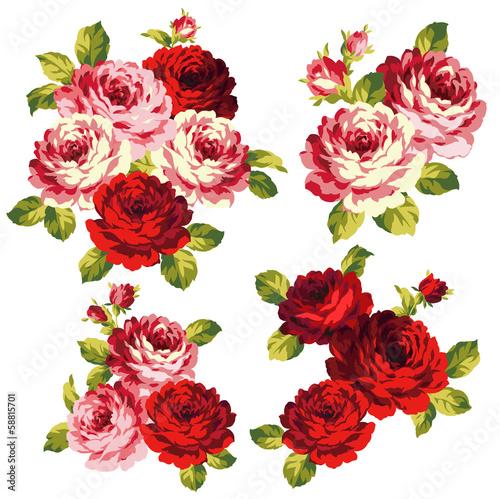 薔薇の花束