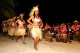 Young Polynesian Pacific Island Tahitian Woman Dancers - 58816118