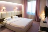 Fototapety empty hotel room