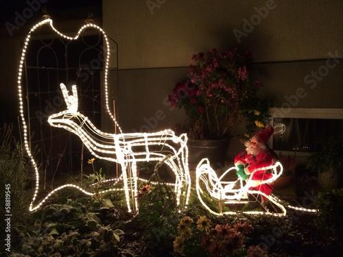 Weihnachtsmann Dekoration