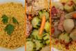 Couscous aux épices  Légumes et Viande