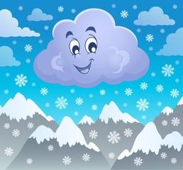 Winter cloud theme image 2