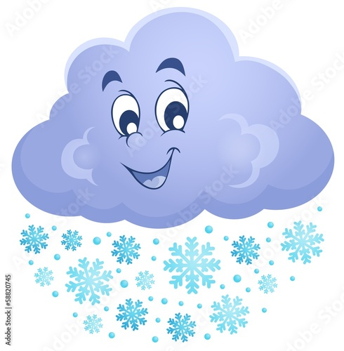 Winter cloud theme image 1