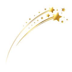 Goldene Sternschnuppe