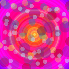 Abstract background with glowing lights, background illustration