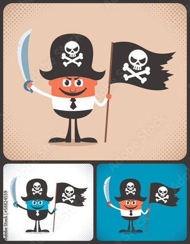 Pirate Businessman