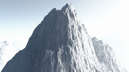 Deadly Mountains realistic 3D animation