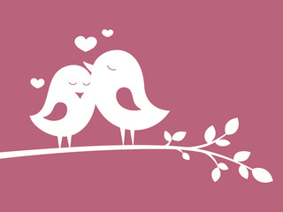 Birds in love 1