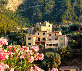 Mountain village Deia in Mallorca