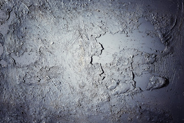 Surface texture of grungy flaking paint